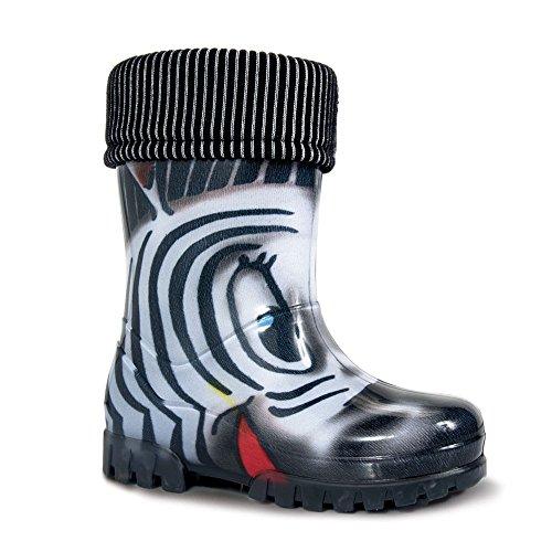 Enfant Zebra En Bottes Demar Mixte Caoutchouc 80SZ4Fq