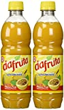 Dafruta Passion Fruit Juice Concentrate - 16.9 FL.Oz | Suco Concentrado de Maracujá Dafruta - 500ml - (PACK OF 02)