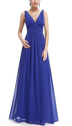 Damen kleider lang elegant amazon