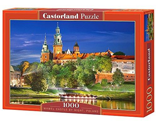 Castorland Wawel Castle by Night, Poland Puzzle (1000 Piece)