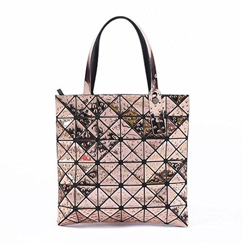 Bags Bags Laser Handbag Plaid Geometric March Big Bags Designer 2 Night Bags Ladies On Women Folded wYUndqxXYS