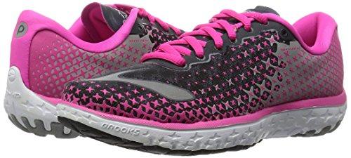 5 Course Brooks Pinkglow anthracite Chaussures 688 Pour Alloy Pureflow Gris De Femme 5wwxBqFWT7