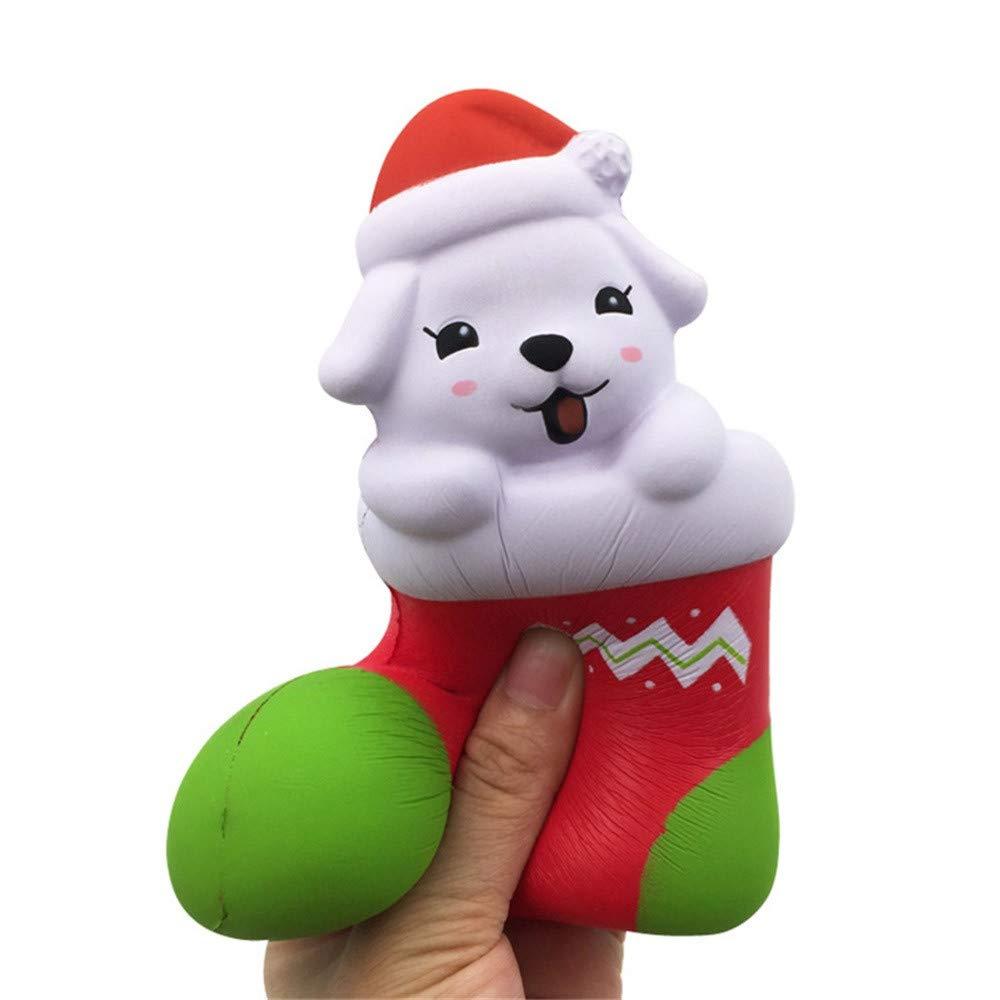 Juguetes Antiestré s, Nino, Cachorro de Navidad Squishy Kawaii Cartoon Perfumado Super Lento Aumento Lindos Niñ os Juguete Juguetes Descompresió n Damark