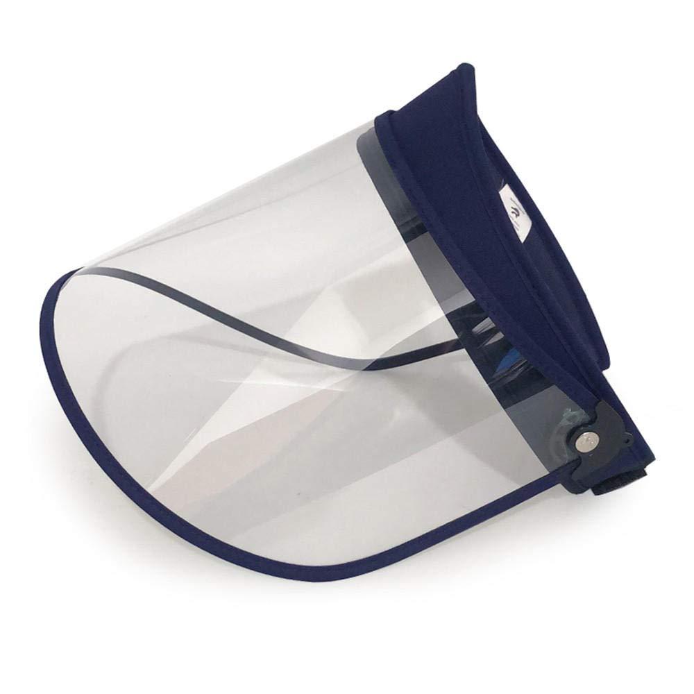 Whsswyx Pantalla Protectora Cara, Facial Transparente, Protector Facial, Lente Anti-Vaho Facial Transparente Ajustable Protector Facial De Seguridad