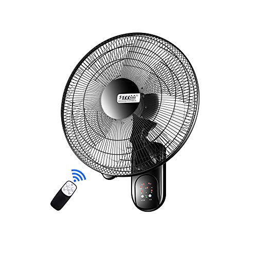 Fans Remote Control Timing Fan Household Shaking Head Electric Fan 3 Speeds, Adjustable Head, Suitable for Living Room, Bedroom ()