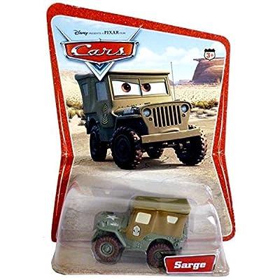 Disney / Pixar CARS Movie 1:55 Die Cast Car Series 1 Original Sarge: Toys & Games