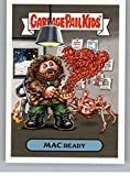 2018 Topps Garbage Pail Kids Oh The Horror-ible 80s Sci-Fi Stickers A #9A MAC READY Peelable Collectible Trading Sticker Card