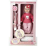 Cuddly Love 16'' Baby Doll and Stroller Set, Girl toys age 3 and upPROMOTIONAL LIMITED TIME PRICE