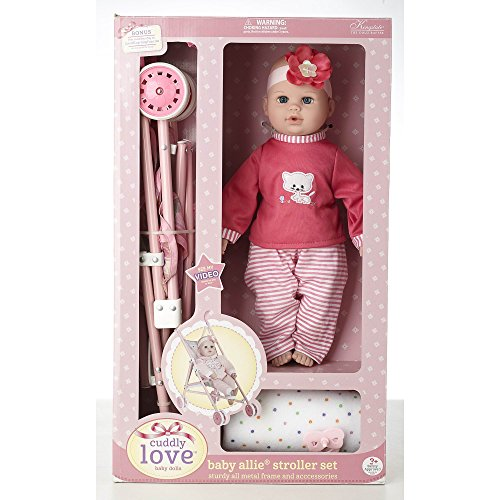 Baby Doll Stroller Playset - 7