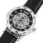 Men's Steampunk Skeleton Mechanical Watch 6