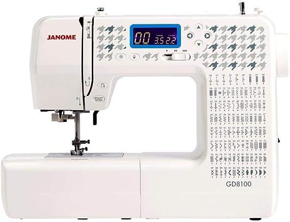 Janome GD8100 máquina de coser con ordenador: Amazon.es: Hogar