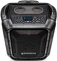 ECOXGEAR EcoBoulder+ GDI-EXBLD810 Rugged Waterproof Floating Portable Bluetooth Wireless 100 Watt Speaker and