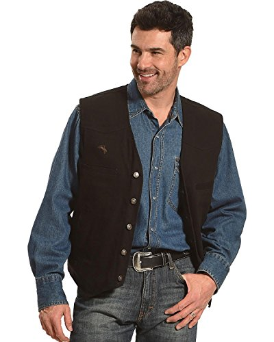 Wyoming Traders Men's Texas Concealed Carry Vest Black X-Large