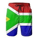 South Africa Flag Swim Trunks For Men