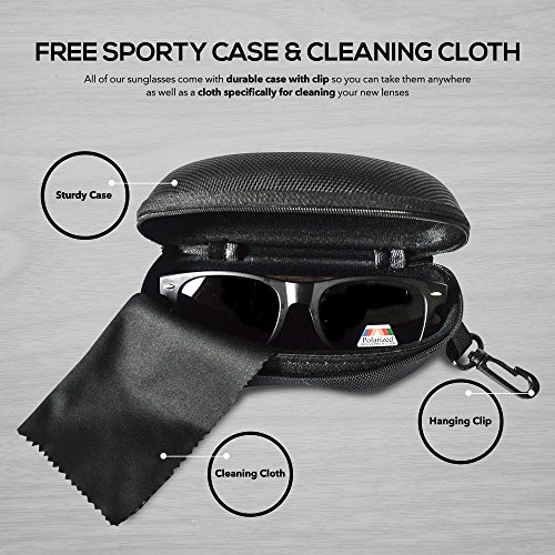 a8b4ba012 Alpha Inspirations Polarized and Fashionable Designer Wayfarer Sunglasses  for Men, Women & Kids