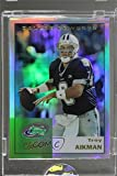 Troy Aikman Manufacturer ENCASED Uncirculated (Football Card) 2003 eTopps Classic - [Base] #ETC34