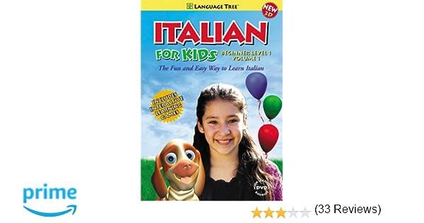 Amazon.com: Italian for Kids: Learn Italian Beginner Level 1 Vol ...