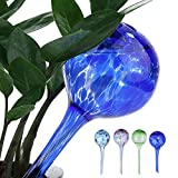 4 PCS Automatic Pouring Bottle Watering Globes Green Plant Potted Automatic Ball Watering Flower Water Drip Irrigationdevice Device by MAARYEE