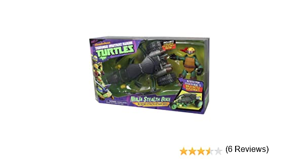 TORTUGAS NINJA Teenage Mutant Ninja Turtles 14094001 - Muñeco Motocicleta