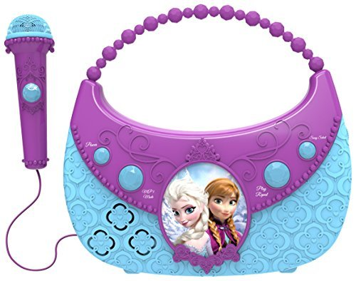 Disney Frozen Cool Tunes Sing Along Boombox By Kiddesigns