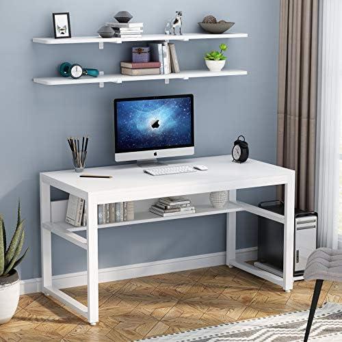 Tribesigns White Computer Desk