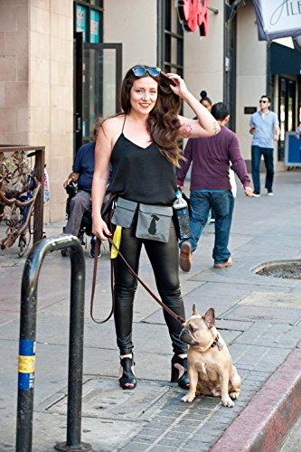 FreshStart DogiPack Hands Free and Organizational Dog Walking Belt (Grey) by FreshStart DogiPack (Image #2)