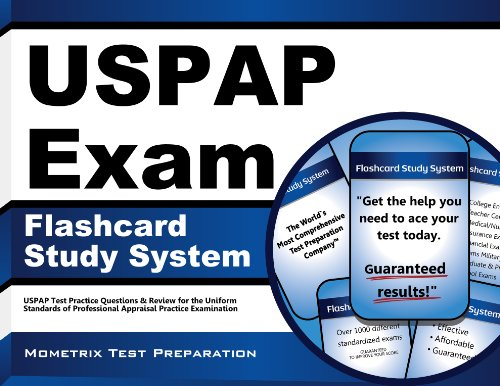 USPAP Exam Flashcard Study System: USPAP Test Practice Questions & Review for the Uniform Standards of Professional Appraisal Practice Examination
