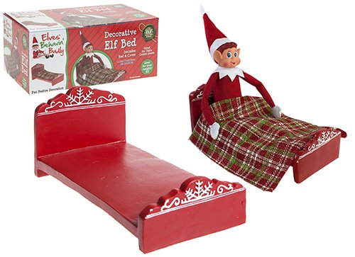 9.5 L X 5w X4.5h Polystone'elf Bed' In Pvc Coated 3ply Box by elves behavin badly