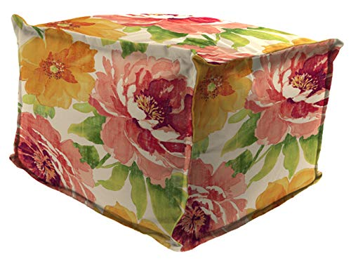 Mainstay Muree Primrose Outdoor Pouf