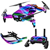 MightySkins Skin For DJI Max Coverage - Light Waves | Protective, Durable, and Unique Vinyl Decal wrap cover | Easy To Apply, Remove, and Change Styles | Made in the USA