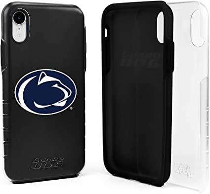 Guard Dog Penn State Nittany Lions Hybrid Case for iPhone XR Clear with Dark Blue