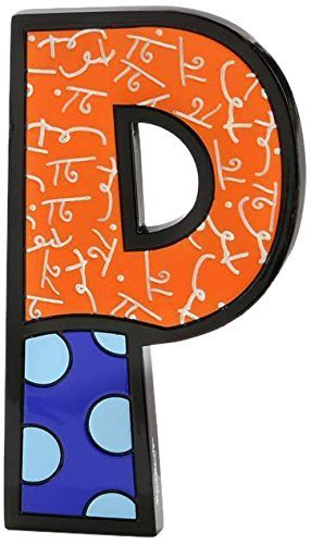 Amazon gift craft romero britto polyresin table topper gift craft romero britto polyresin table topper letter p by gift craft negle Gallery