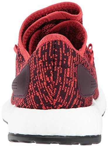 5 Bordeaux Pureboost 8 Schoenmaat Donker Bourgondi Adidas M Rood donker Rood tastbaar zwart Zwart w74fIB