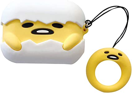 Silicone Earphone Cover Accessories Funny Protective case with Hook Headphone Charging Cases for Apple airpods Cute Emoji face