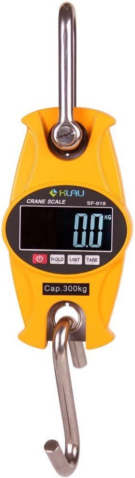 600 lb SF-918 Postal Scales Industrial Heavy Duty Digital Scale,Klau 300 kg