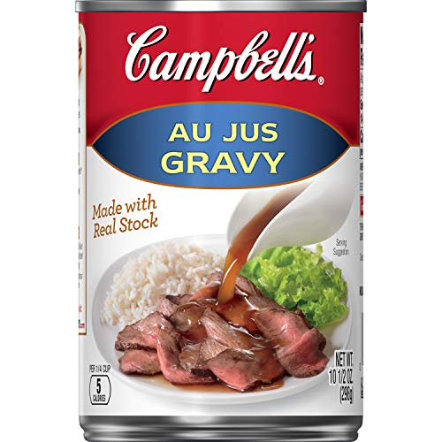 Campbell's Gravy, Au Jus, 10.5 oz. Can (Pack of 24)