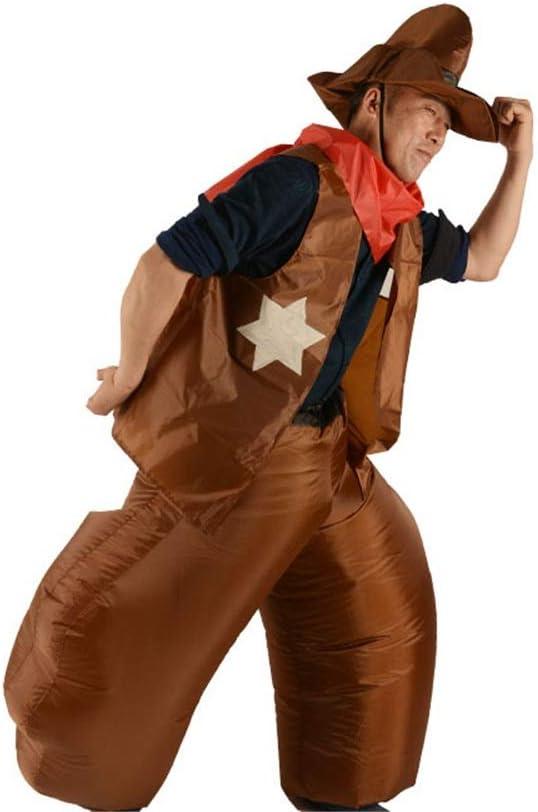 Disfraz de vaquero para adultos, disfraz inflable para adultos ...
