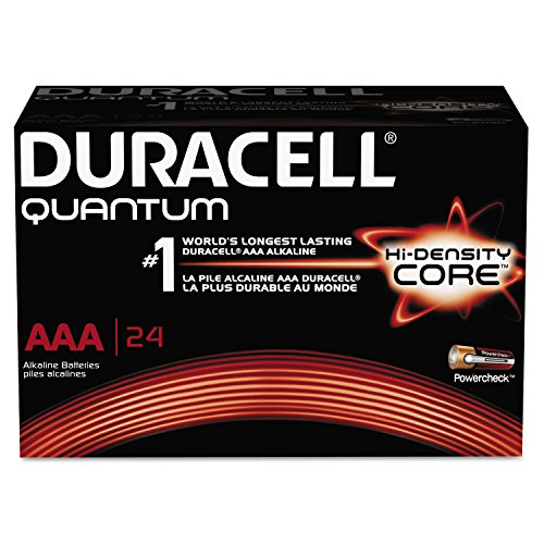 Quantum Alkaline Batteries With Duralock Power Preserve Technology  Aaa  24 Box  Sold As 1 Box