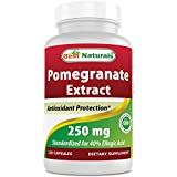 Best Naturals Pomegranate Extract 250 mg 120 Capsules