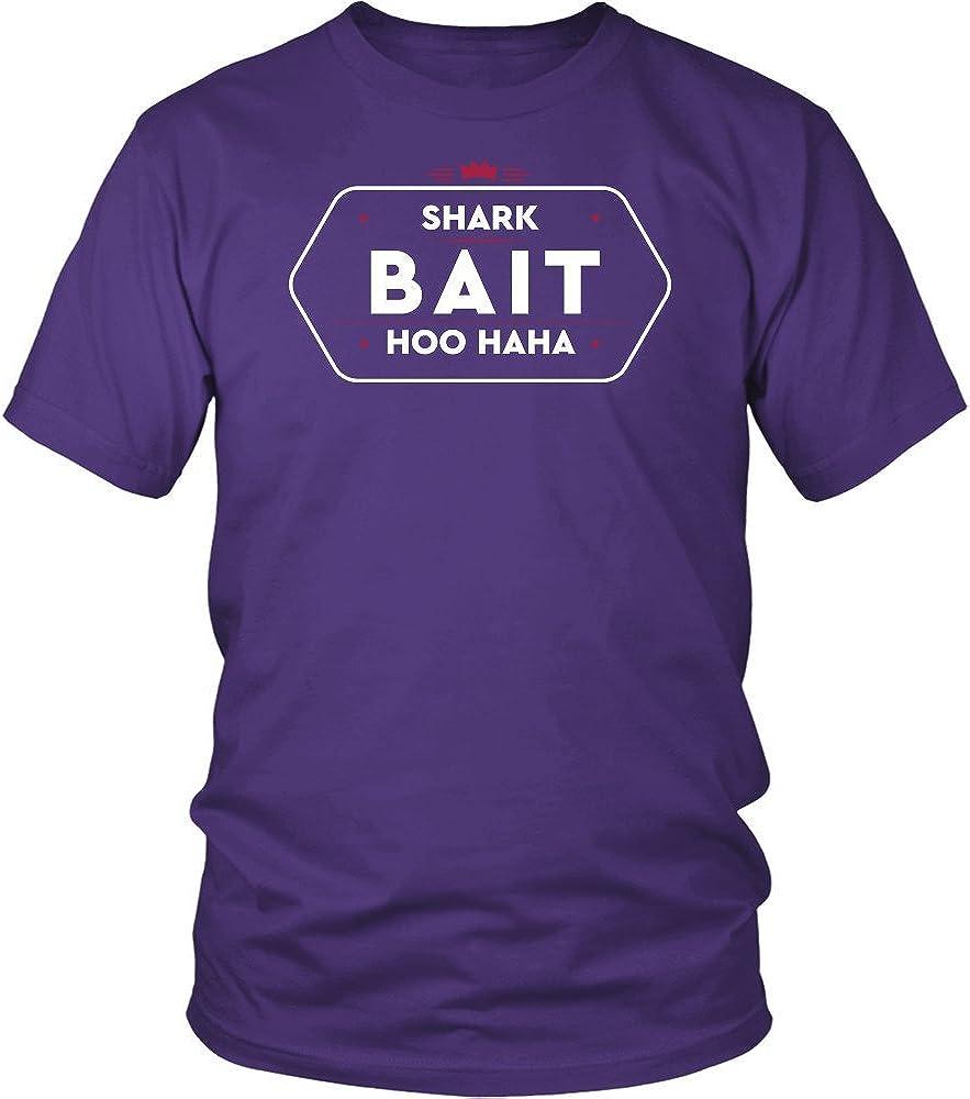 Shark Bait Hoo Haha Shirt. Funny Novelty T-Shirt