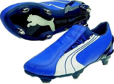 magasin en ligne 37862 af8af Puma V1.06 SG - Chaussures de Foot Bleu/Blanc/Bleu - Taille ...