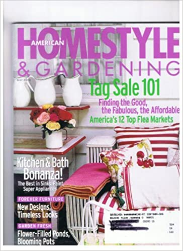 American Homestyle Gardening Magazine May 2000 Tag Sale