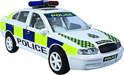 Buy Centy Toy Uk Police Hot Pursuit Car Miniature Pull Back Action