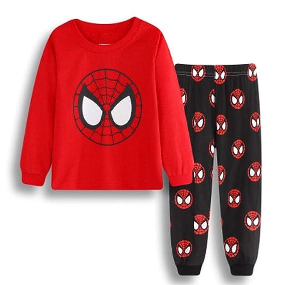 Pijamas Para Niños Conjunto De Pijamas Para Niños Pjs De Algodón ...