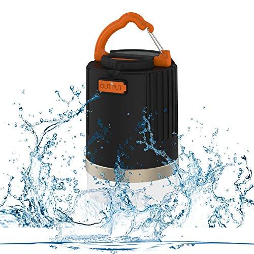 Superway® Portable Ultra Bright LED Camping Lantern & 10400mAh Power Bank, 440 Lumen