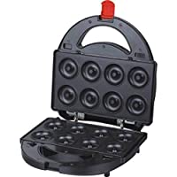 Syntrox Germany ZNA-1500W Donutmaker mit herausnehmbaren und spülmaschinengeeigneten Wechselplatten