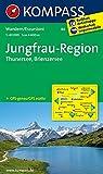 Jungfrau-Region - Thunersee - Brienzersee: Wanderkarte GPS-genau. 1:50000 (KOMPASS-Wanderkarten, Band 84)