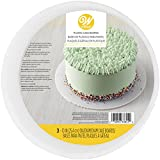 Wilton Fluted Round Cake Boards, White, 23cm (9in) Pack of 3