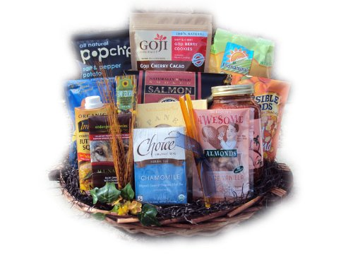 Deluxe Healthy Sympathy Basket by Well Baskets