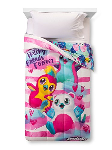 Price comparison product image Hatchimals Twin Comforter and Sheet Set